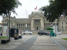 Palacio de Justicia, Paseo de Héroes Navales/ Paseo de la República, Centro de Lima