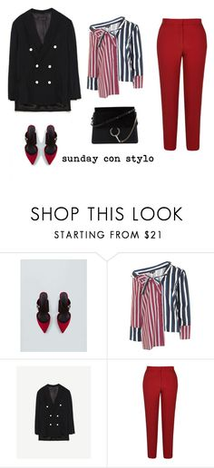 """SUNDAY CON STYLO"" by aliciagorostiza ❤ liked on Polyvore featuring Topshop, River Island and Chloé"