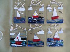 Sailing boat sun catchers