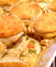 Creamy Country Chicken Pie - We can't resist this southern specialty!
