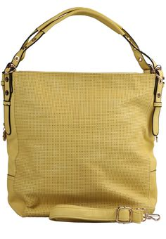 NEW ARRIVAL SUMMER 2013 - OLIVIA YELLOW LEATHER SHOULDER BAG