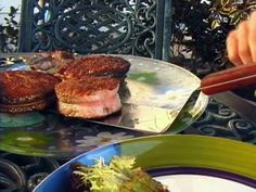 Alton Brown's grilled salmon steaks. one of my personal favorites.