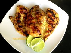Paleo Jamaican Jerk Chicken - So flavorful and moist! www.PaleoCupboard.com