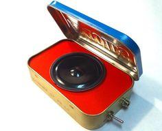 Ampoids, amplificatori portatili per mp3 dallo stile vintage