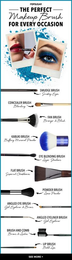 What makeup brush should you use?