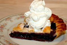 Sweet Tea and Cornbread: Blueberry Pie!