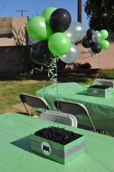 XBox Theme Birthday Party Ideas - Xbox Games - Trending Xbox Games for sales - Xbox Party Ideas Ben 10 Birthday, 10th Birthday Parties, Birthday Games, Birthday Party Themes, Birthday Ideas, Xbox Party, Game Truck Party, Ben 10 Party, Minecraft Party