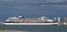 Celebrity Cruises, cruise ship Celebrity Constellation. Track at sea, live, in real time.