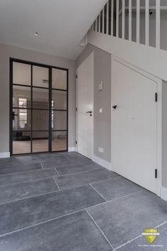 Belgian bluestone floor in Waddinxveen Living Room Ideas 2020, Living Room Trends, Living Room Decor, Floor Design, House Design, Best Bedroom Colors, Home Carpet, Beautiful Living Rooms, Home Deco