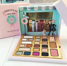 Too Faced Holiday 2016 The Chocolate Shop