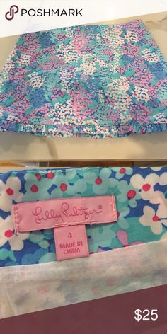 Skirt Lilly Pulitzer skirt. Great condition Lilly Pulitzer Skirts Mini