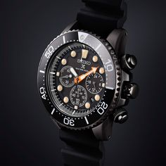 Not usually the biggest fan of all of Seiko's new releases, but...wow! #respect @fratellowatches: Seiko Prospex – The Black Series Limited Edition 2018