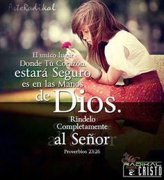 ♥- Un Dios que es más que sufficient - No se puede pensar pensamientos de…