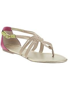 perfect summer sandal. by seychelles.