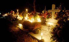 La Toussiant, Louisiana, where candles guide the dead home.