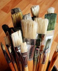 Learn how to oil paint, do an abstract! How hard can it be...