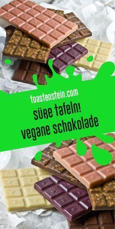 Sweet Tables - Homemade Vegan Chocolate # Homemade # Chocolate # Same . Brownies Cacao, Vegan Recipes, Cake Recipes, Sweet Bar, Vegan Treats, Vegan Food, Food Blogs, Cookies Et Biscuits, Vegan Chocolate
