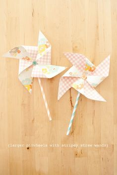 paper pinwheel tutorial {stevie pattyn for shop sweet lulu}