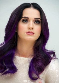 Dark Purple Hair Color Ideas 2013// don't like Katy perry but I like this hair color