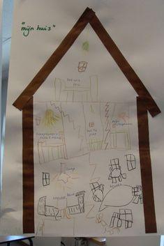 Our Code, Reggio, Teaching, School, Frame, Penguins, Houses, Crowns, Home