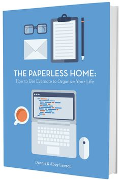 I need to be this organized! Their house is totally paperless-- everything is digital! | Just a Girl and Her Blog