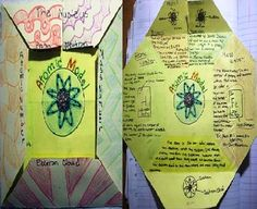 Atomic Structure Foldable || eeek! I'm definitely doing this with my 8th Grade Science class next year.