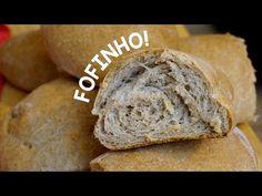 PÃO CASEIRO 100% INTEGRAL! Pão de saquinho nunca mais! - YouTube