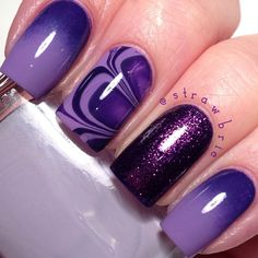 .@Hannah Mestel Barber | I did these nails for my Natalia @cats_n_nails for her birthdayparty blog pos...