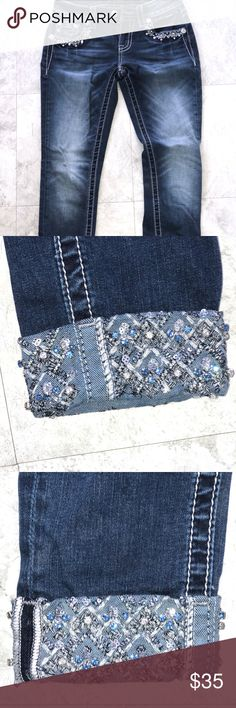Miss Me Jeans Miss Me Jeans Size: 25 which is equal to a 0 Miss Me Jeans Skinny