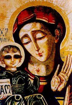 María y niño   par Rafa Sanahuja
