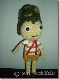 El chavo del 8 Loom, Crochet Hats, Characters, Knitting, My Love, How To Make, Products, Amigurumi, Toys