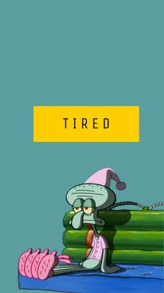 I get squidward right now, SpongeBob SquarePants, art, wallpaper Disney Wallpaper, New Wallpaper, Wallpaper Backgrounds, Iphone Wallpaper, Spongebob Squarepants, Find Image, Aesthetic Wallpapers, Sleepover, Cute Wallpapers