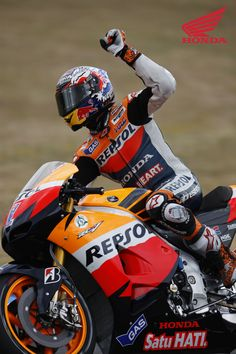 2012 Moto GP Round 2 in Jerez. Picture features #1 Casey Stoner. For more information visit http://motorcycles.honda.com.au/Honda_Racing