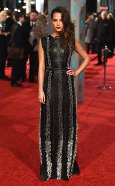 Alicia Vikander from 2016 BAFTA Film Awards