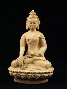 Terracotta Buddha Statue - Kashgar Tribal Artifacts - Life for the Modern Nomad Buddah Statue, Traditional Stories, Buddha Art, Handicraft, Terracotta, Antique Furniture, Soul Food, Antiques, Nepal