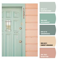 Instantly turn any picture into a palette with ColorSnap, created for you by Sherwin-Williams. Colour Pallette, Colour Schemes, Color Combos, Summer Color Palettes, Summer Colors, Paint Colors For Home, House Colors, Mode Pastel, Bedroom Colors