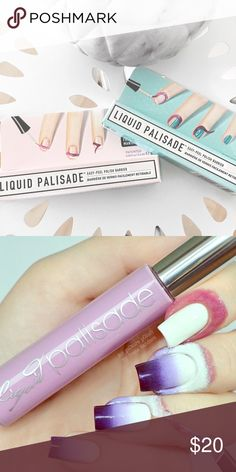 Kiesque Liquid Nail Palisade Liquid Palisade - Easy Peel Polish Barrier means no more mess for your manicures, perfect French tips and custom nail art. Never Used. Still in packaging. Sold as a set. Kiesque Other