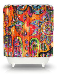 Artistic Shower Curtains