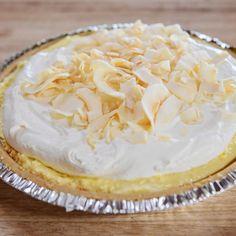 Shortcut Coconut Cream Pie By Ree Drummond Coconut Desserts, Ree Drummond, Pie Dessert, Cream Pie, Coconut Cream, Food Network, Sweet Stuff, Appetizers, Easter