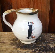 Bee Design, Milk Jug, Kitchenware, Stoneware, Pottery, Ceramics, Etsy, Decor, Ceramica