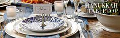 Hanukkah Tabletop | Williams-Sonoma