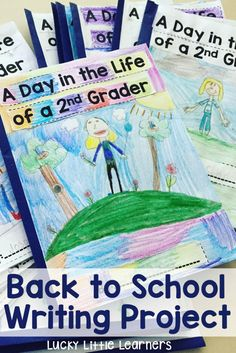 This is a great back to school writing project that will get your students excited about writing this year! First grade through fourth grade templates are provided. These books can be written during writer's workshop or core ELA instruction.