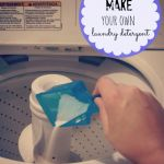 How to make your own Laundry Detergent + Free printable recipes cards!