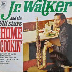 JR. WALKER & THE ALL STARS / HOME COOKIN' #motown