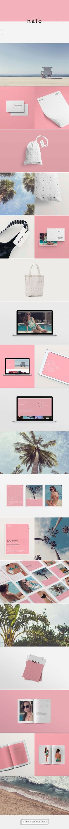 Hãlõ Swimwear Branding by Page   Fivestar Branding Agency – Design and Branding Agency & Curated Inspiration Gallery