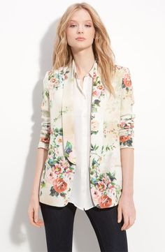 Absolutely love vintage florals for spring - so chic