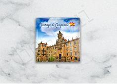 Spain, Santiago de Compostela Series - fridge magnets, epoxy magnets, customized orders from Besgen Incorporate #backhome #fridgemagnets #magnets #traveldiaries #lovelylife #gifts #giftshop #photoholder #magnet #giftingideas #giftingsolutions #quirkygoods #santıagodecompostela #spain
