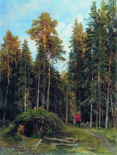 Evening - Ivan Shishkin