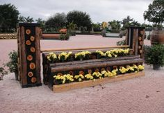 Horse-Jumps-WEF-Hunter-Week-3-1 by Classy Courses Inc. Horse Show Jumps, via Flickr
