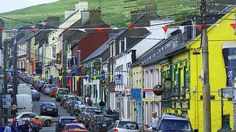 Dingle, Ireland...I spent a weekend here when I lived in Ireland for 5 weeks!!! It is a very charming little town and I would love to go back!
